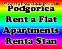 Apartmani i stanovi za iznajmljivanje u centru Podgorice